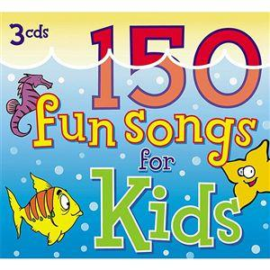 150 fun songs for kids on 3 CDs