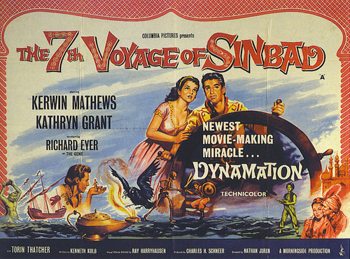 movie poster for 7th voyage of sinbad
