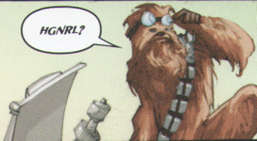 wookiee language word transliterated in English alphabet