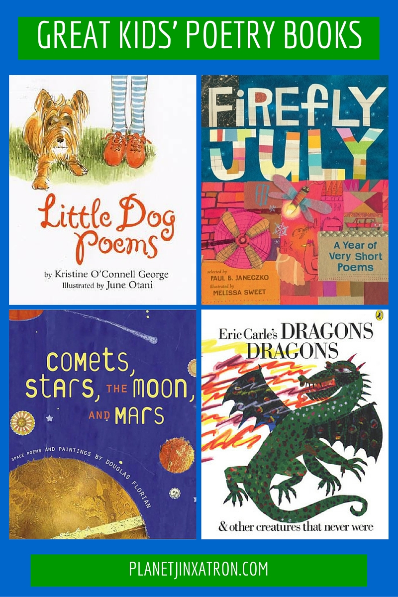 Worksheet Poetry Books For Children our 5 favorite poetry books for kids