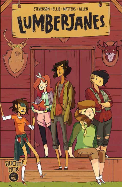 Lumberjanes cover for the first issue