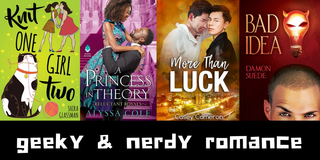 10+ Geeky & Nerdy Romance Novels